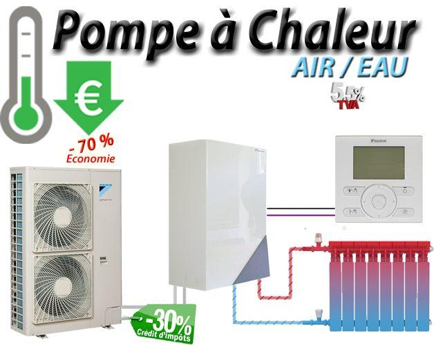 Aerothermie Pompe A Chaleur Air Eau Reduire Mes Consommations